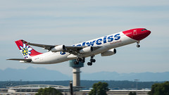 HB-JMG - Edelweiss Air - Airbus A340-313 (bcavpics) Tags: canada britishcolumbia edelweissair vancouver plane airplane aircraft aviation airbus yvr airliner a340 a343 cyvr hbjmg bcpics