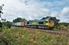 66540 (stavioni) Tags: class66 shed freightliner diesel rail railway train railfreight