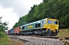 66518 (stavioni) Tags: class66 shed freightliner diesel rail railway train railfreight
