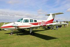 G-GPAT (GH@BHD) Tags: ggpat beechcraft beech beech76duchess duchess laa laarally laarally2019 sywellairfield sywell aircraft aviation piston