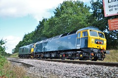 47727 (stavioni) Tags: gbrf class47 class73 electro diesel electric locomotive edinburgh castle 47727 73970 gb railfreight duff caledonian sleeper