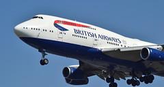 British Airways G-CIVR (jamesEGGD) Tags: britishairways gcivr boeing b747400 b747 lhr