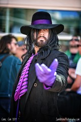 The Undertaker! (Sam Antonio Photography) Tags: portrait raw cosplay wrestling comiccon wwe wwf smackdown undertaker sandiegocomiccon comicconinternational markwilliamcalaway