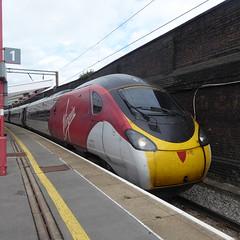 390136 at Crewe (12/9/19) (*ECMLexpress*) Tags: virgin trains west coast class 390 pendolino emu 390136 crewe wcml