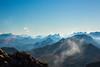Vue sur les Alpes bernoises du sommet du Gantrisch (Kuonen Bosatsu) Tags: berner oberland mountains nature aerialperspective bernese highland