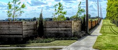 A New Clan Fence (clarkcg photography) Tags: fence fencedfriday street brokenarrow newaddition clan family individual