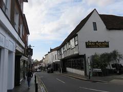 St. Albans (cag2012) Tags: timberframe leaning stalbans england unitedkingdom greatbritain