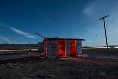 Free Paint (Nocturnal Kansas) Tags: night nocturnal moon full d800 nikon led1 protomachines nightphotography lightpainting longexposure gasstation