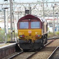 66095 at Crewe (12/9/19) (*ECMLexpress*) Tags: ews db cargo class 66 diesel freight locomotive 66095 crewe wcml