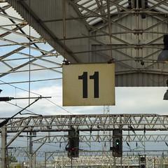 Platform 11 at Crewe (12/9/19) (*ECMLexpress*) Tags: crewe railway station wcml west coast mainline platform
