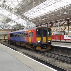 153311 at Crewe (12/9/19) (*ECMLexpress*) Tags: emr east midlands railway class 153 sprinter dmu 153311 crewe wcml