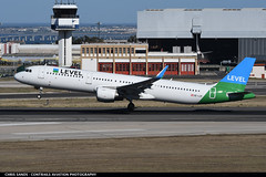 LEVEL A321 OELCP (Sandsman83) Tags: airplane aircraft plane takeoff lisbon lis lppt level airbus a321 oelcp