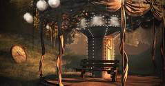 Time Rolls On (Jamee Sandalwood Photography) Tags: secondlife shadows outdoors outside outsdie orange fall arts artist pixel photography photos landscape autumn harvest