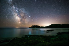 The Milky Way Over Lake Superior (Mike Plucker) Tags: water stars milky way milkyway minnesota lakesuperior night longexposure astro astroscape sky solar