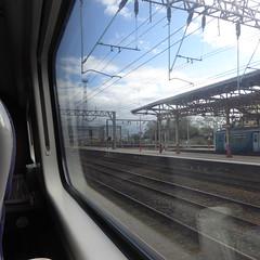 390136 window view. Crewe (12/9/19) (*ECMLexpress*) Tags: virgin trains class 390 pendolino emu 390136 crewe wcml