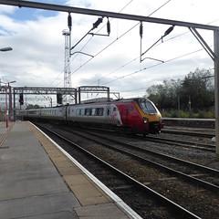 221104 arrives at Crewe (12/9/19) (*ECMLexpress*) Tags: virgin trains west coast class 221 super voyager dmu 221104 crewe wcml