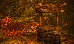 Songbirds (Jamee Sandalwood Photography) Tags: secondlife shadows outdoors outside outsdie orange fall arts artist pixel photography photos landscape autumn harvest