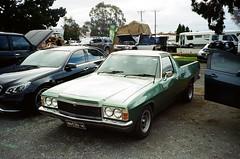 Holden HZ ute (Matthew Paul Argall) Tags: canonsureshot60zoom 35mmfilm kodakultramax400 kodak400 ultramax 400isofilm holden holdenhz ute pickup carshow