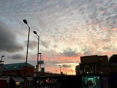 Cloudy sunset (Panda Mery) Tags: cloud hackney london street sunset uk