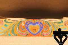 Colorful hearts (srkirad) Tags: hearts vivid colorful facade architecture building travel szolnok hungary wall love ornament