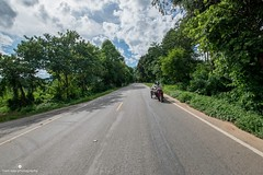 King of the road (www.ownwayphotography.com) Tags: jungle green scooter road travel thailand