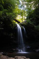 Grotto Falls (Macson McGuigan) Tags: greatsmokymountainsnationalpark nationalpark grottofalls waterfall longexposure freshwater stream creek tennessee