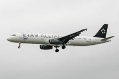 G-MIDL (PlanePixNase) Tags: london heathrow lhr egll planespotting airport aircraft airbus 321 a321 bmi midland british staralliance