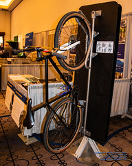 A Bicycle on a Vendor's Bike Rack (AvgeekJoe) Tags: 1835mmf18dchsm d7500 dslr nikon nikond7500 sigma1835mmf18 sigma1835mmf18dchsmart sigma1835mmf18dchsmartfornikon sigmaartlens