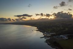 Redcastle Sunset, Lough Foyle (Sean Hartwell Photography) Tags: redcastle hotel loughfoyle foyle donegal countydonegal ireland flight drone dji mavicpro water