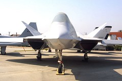 """Northrop YF-23 1 • <a style=""""font-size:0.8em;"""" href=""""http://www.flickr.com/photos/81723459@N04/48725428536/"""" target=""""_blank"""">View on Flickr</a>"""