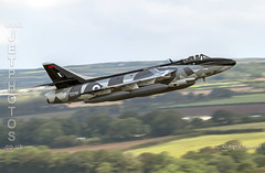 Hawker Hunter ZZ191 from Hawker Hunter Team during Practice Diversion at RNAS Culdrose (JetPhotos.co.uk) Tags: bobsharples wwwjetphotoscouk rnasculdrose royalnavy hawker hunter team rafscampton aggressor scheme livery camo