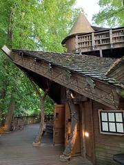 Treehouse restaurant (markshephard800) Tags: carpentry house trees forest treehouse