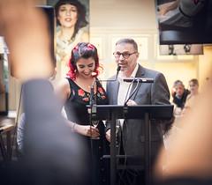 """Pin it up"" – Elena F. Barba & Thomas Quinten (designladen.com) Tags: cafépikant elenafbarba p9121915 olympusem1markii olympus olympusm45mmf12 45mm"