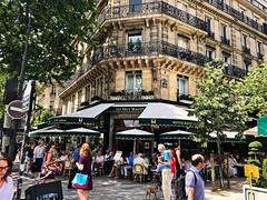 Magical Paris (jeromedelaunay) Tags: paris parisjetaime parismonamour parisianlife parisian parisianlifestyle parislovers parisians france europe tourisme tourism saint germain quartier cafe des deux magots bar restaurant people