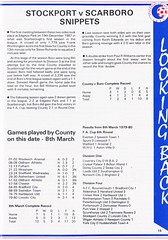 Stockport County vs Scarborough - 1991 - Page 15 (The Sky Strikers) Tags: stockport county scarborough barclays league division four edgeley park welcome to the friendly football club official programme 80p