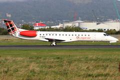 G-SAJI (GH@BHD) Tags: gsaji embraer erj145 erj145ep loganair belfastcityairport lm lc log bhd egac regionaljet aircraft aviation airliner