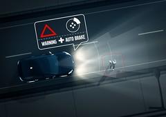 Pedestrian detection in darkness (volvoklassiekervereniging) Tags: safety technology illustration images 2013