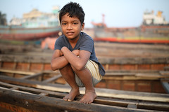 Bangladesh, street child at Sadarghat in Dhaka (Dietmar Temps) Tags: abandoned asia bangladesh boy child culture developingcountry dhaka homelessness human humanity kid loneliness male orphan outdoor people person poor poverty streetchildren streetkids streetyouth young