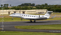 Gulfstream G650ER at the Royal International Air Tattoo 2019 (JetPhotos.co.uk) Tags: airdisplay airshow aircraft bobsharples flying military raffairford riat royalinternationalairtattoo aviation wwwjetphotoscouk gulfstream g650er n650gf fixedwing multiengine turbofan gulfstreamaerospace