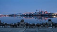 Philadelphia Navy Yard (PMillera4) Tags: philadelphianavyyard shipyard navy ships longexposure