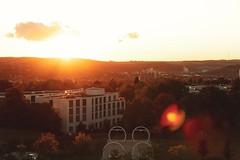 Würzburg's Sunset 🌇 (_freddY_) Tags: sunset sun sunny city evening würzburg germany sky orange canon campus hubland castle festungmarienberg marienberg festung