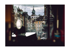 Würzburg inner City (Thomas Listl) Tags: thomaslistl color würzburg tram train layers window urban city architecture town facade sky kaiserstrase ngc