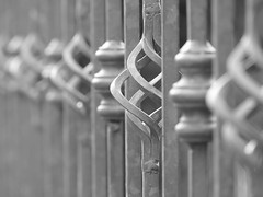 HFF (beatawozniak1968) Tags: fence fencedfriday fencefriday detail monochrome bw photography