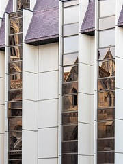 Old and New (celia.mulhearn) Tags: budapest canon1855mm reflection