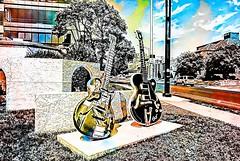 E L V I S (b_kohnert) Tags: abstraktart digitalart digitalpainting elvis music gitarre legend