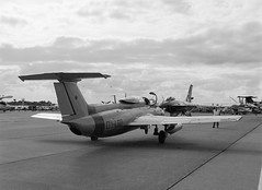 L-29 Dolphin (LarsHolte) Tags: blackandwhite bw 120 film monochrome analog mediumformat denmark 645 pentax jet ishootfilm 120film f45 airshow analogue rodinal 6x45 danmark foma 100iso pentax645 filmphotography fomapan classicblackwhite 645n homeprocessing aph09 filmforever smcpentaxfa 4585mm fomapan100classic larsholte dolphin trainer l29 roskilde