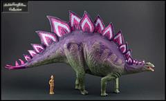 Stegosaurus (RobinGoodfellow_(m)) Tags: sega stegosaurus large vinyl dinosaur dinosaurs prehistoric model toy figure japan