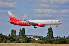(ORY) Rossiya Boeing 737-800  VP-BGR Landing runway 06 (dadie92) Tags: ory orly rossiya boeing b737 b737800 vpbgr landing spotting aircraft airplane nikon d7100 sigma tamron danieldanel