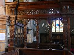 Church - St Andrew, Slaidburn 190822 [Chancel Screen] 1 (maljoe) Tags: slaidburn church churches standrewchurchslaidburn standrews chancel