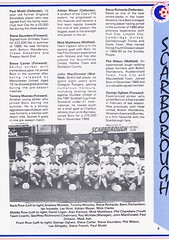 Stockport County vs Scarborough - 1991 - Page 5 (The Sky Strikers) Tags: stockport county scarborough barclays league division four edgeley park welcome to the friendly football club official programme 80p